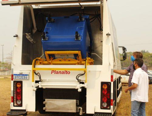 Ministério do Meio Ambiente em Vilhena: contentores de coleta seletiva mecanizada serão entregues nesta sexta-feira